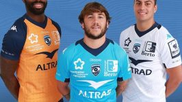 Montpellier Herault Rugby dévoile ses maillots 2019