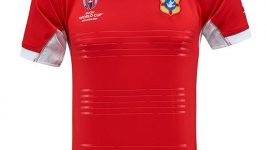Maillot domicile Tonga Kukri Rugby World Cup 2015